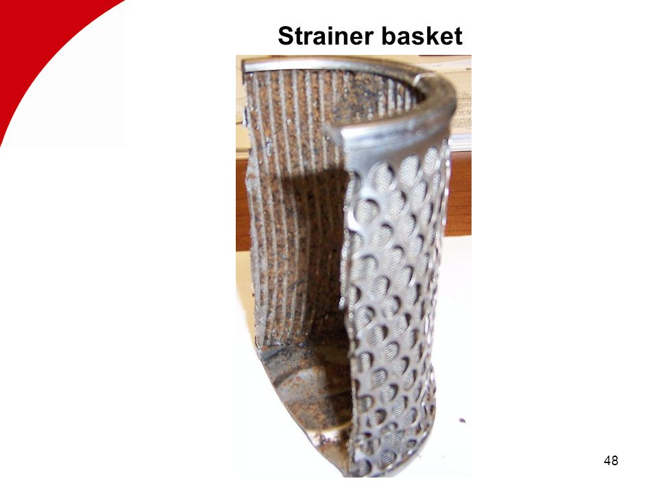48 Strainer basket