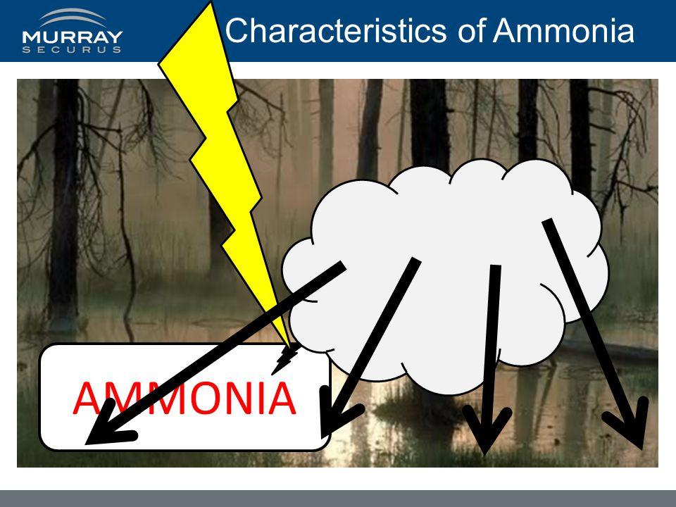 Characteristics of Ammonia AMMONIA