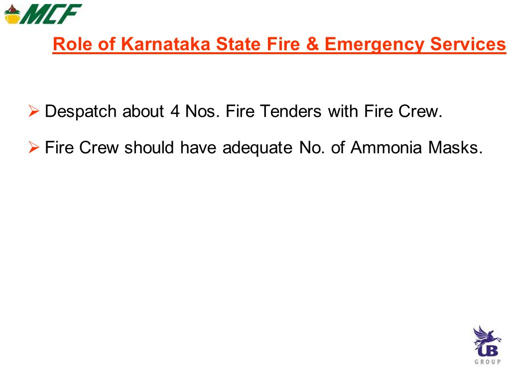 Off-site actions contd….  Evacuation of people from near KISCO on the road  Search and identify if any people are affected in Thokur area.  Rehabil