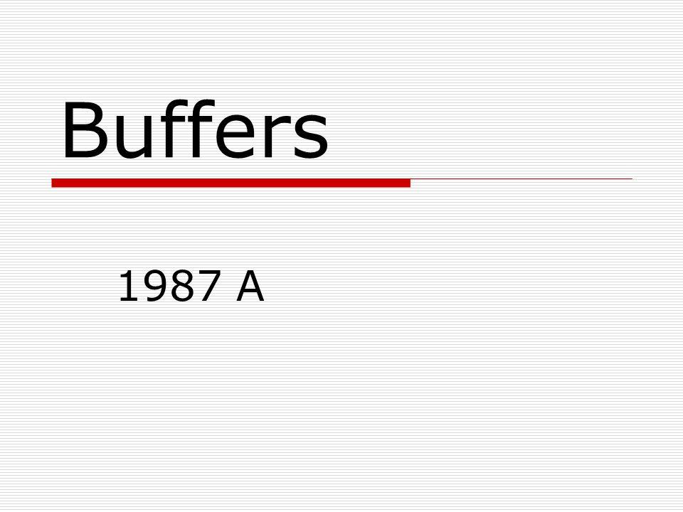 Buffers 1987 A