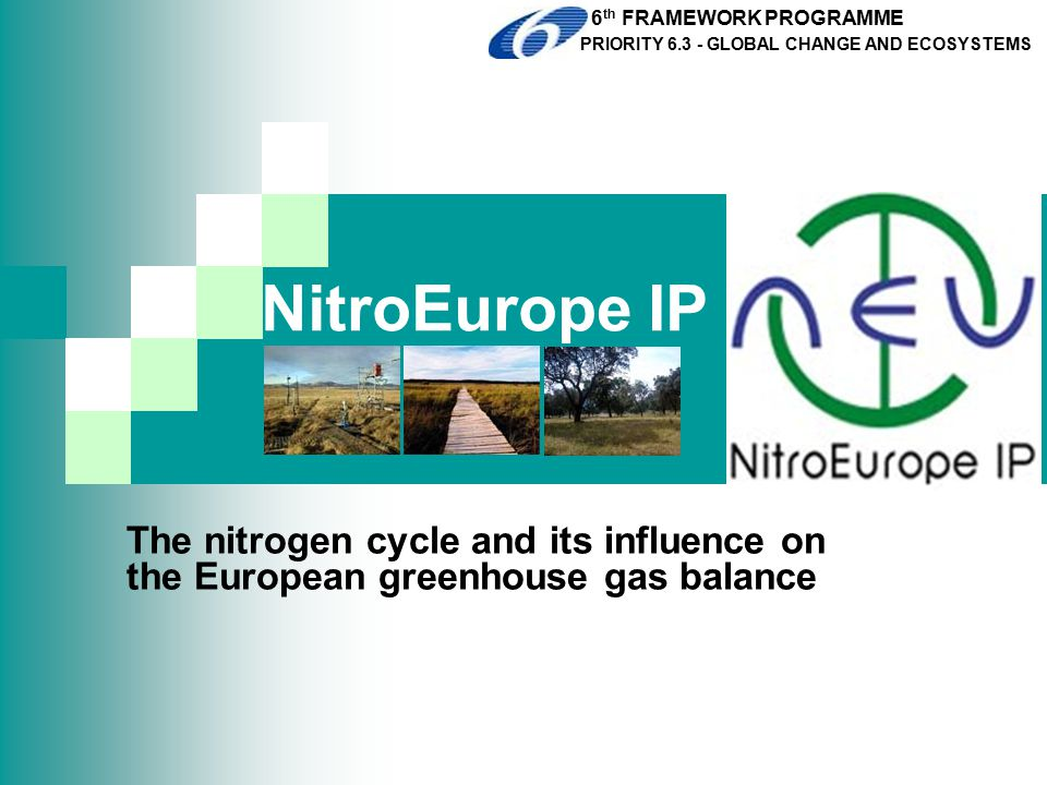 COST Action 729 Assessing and managing nitrogen fluxes in the atmosphere- biosphere system in Europe  Combining knowledge of various research areas to provide a scientific basis for an integrated approach to nitrogen management; requiring knowledge on:  The formation of reactive nitrogen and the resulting emissions to the atmosphere  Transport, transformation and deposition  Integrated assessment modelling  Policy analysis and support www.cost729.org