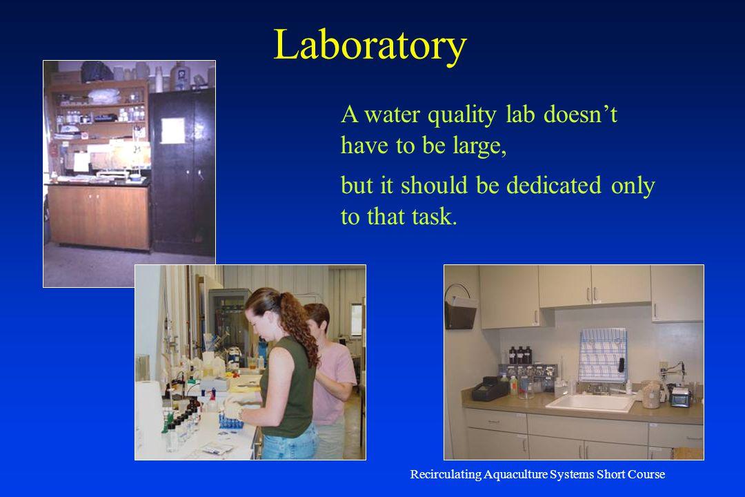 Recirculating Aquaculture Systems Short Course Chemical Analysis - Orthophosphorus 4500-P Phosphorus Ammonium molybdate and potassium antimonyl tartra