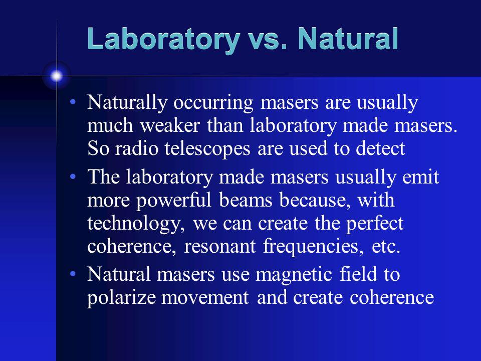 Laboratory vs.