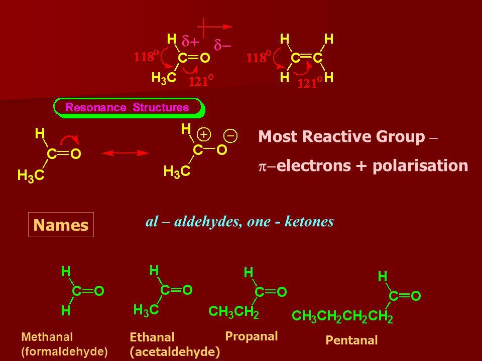 Nomenclature of Aldehydes