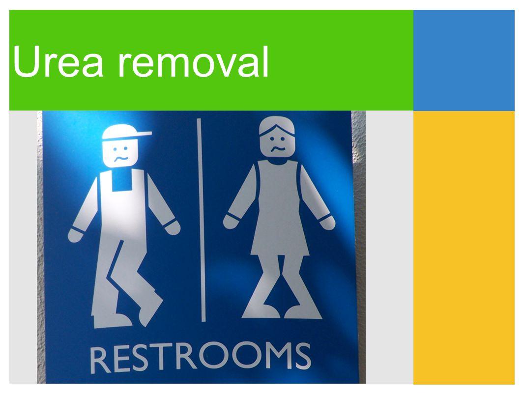 Urea removal