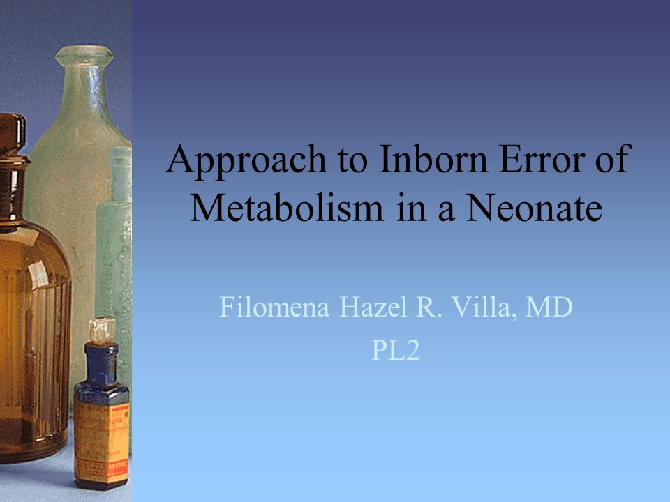 Summary Metabolic acidosis + hyperammonemia Request for specific lab studies Consult metabolic specialist Initial therapy- stabilize patient.