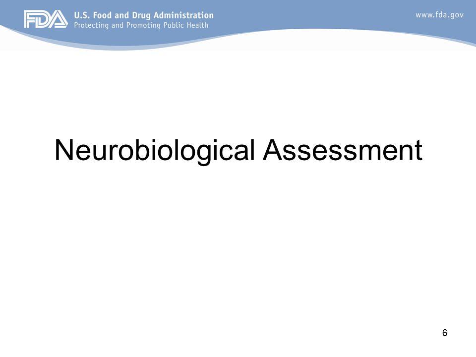 6 Neurobiological Assessment