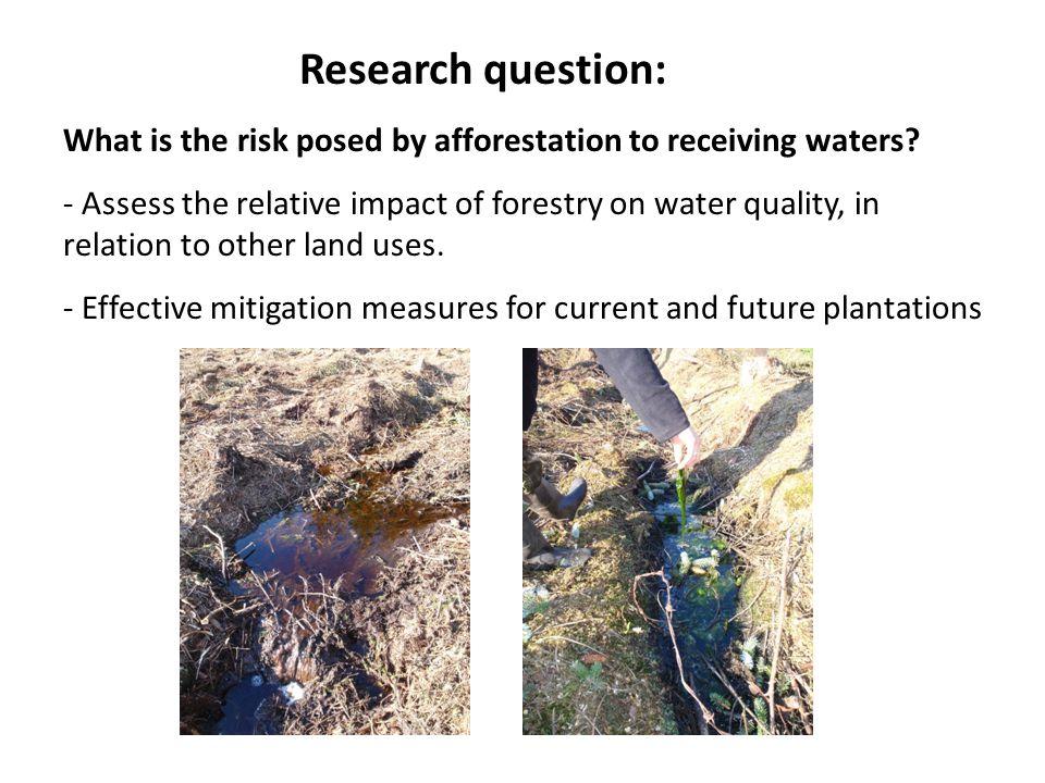 Phosphorus water quality status of streams in data set Impact assessment Phosphorus (SRP)