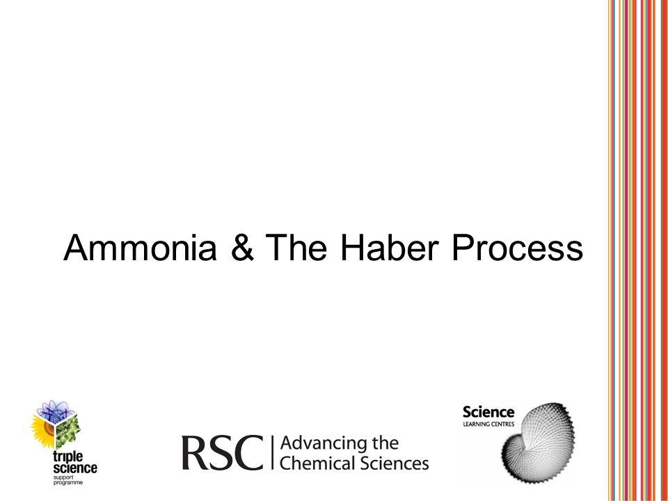 Ammonia & The Haber Process