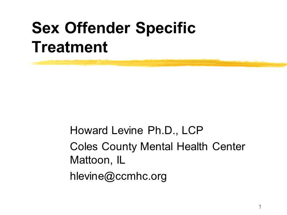 12 Characteristics of Sex Offender- Specific Treatment (cont) Explicit, empirically-based model of change Expected to reduce, never eliminate, recidivism Social learning theory-based Addresses criminogenic needs Targets factors closely linked to sex offending (criminogenic needs)
