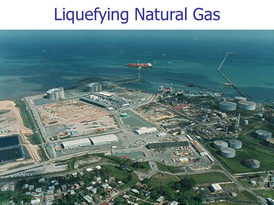 Liquefying Natural Gas