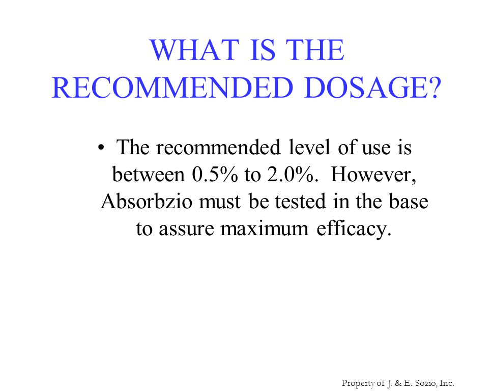 WHAT ARE THE MAIN APPLICATIONS OF ABSORBZIO.