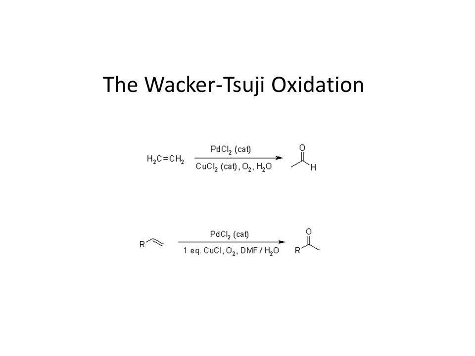 The Wacker-Tsuji Oxidation