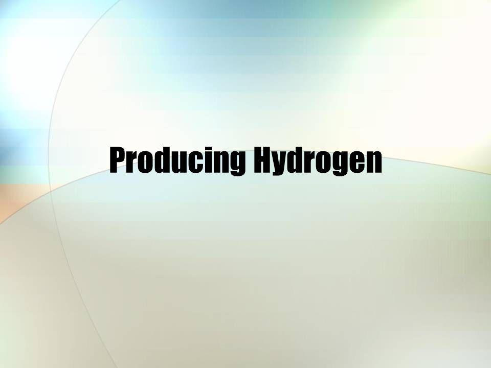 Producing Hydrogen