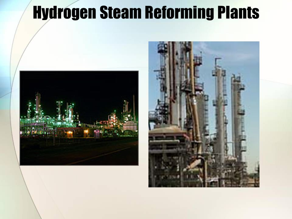 Hydrogen Steam Reforming Plants