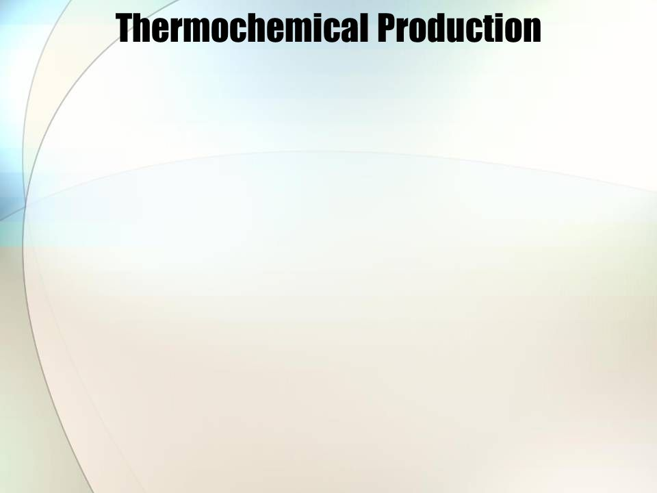 Thermochemical Production