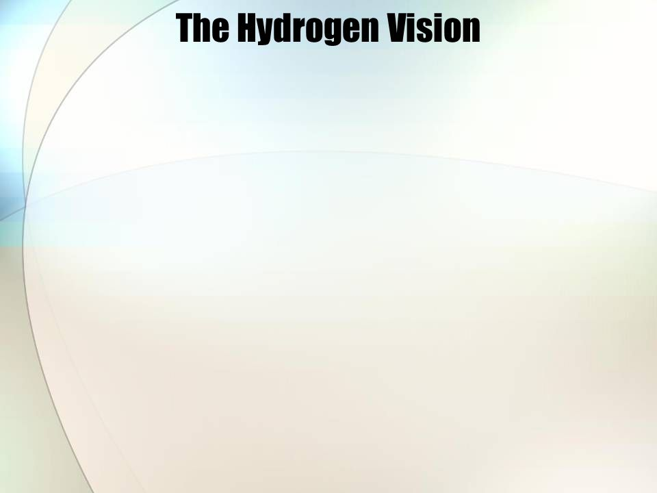 The Hydrogen Vision