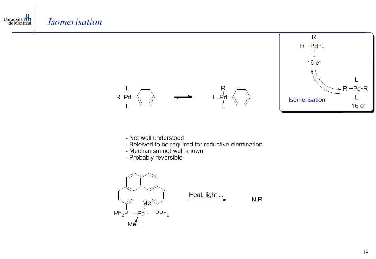 19 Isomerisation