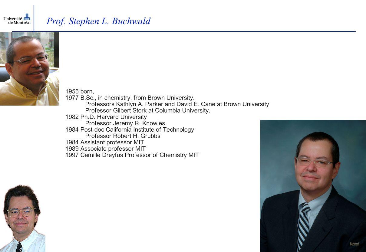 27 Prof. Stephen L. Buchwald