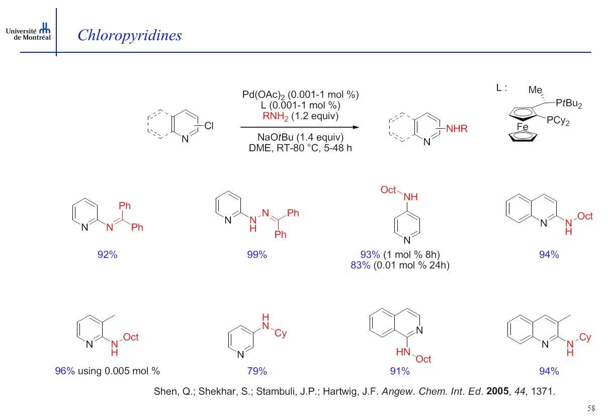 58 Chloropyridines