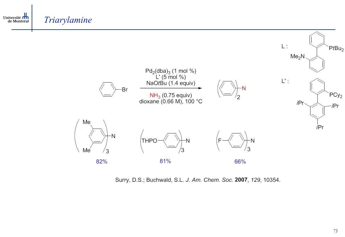 73 Triarylamine