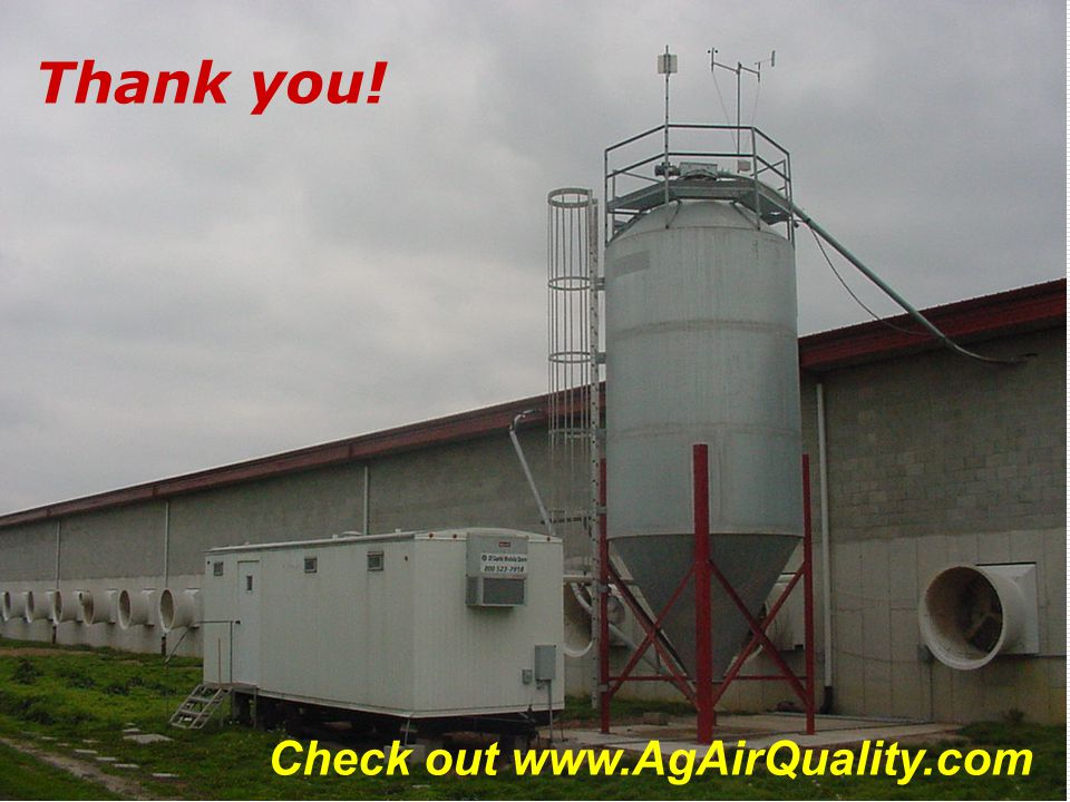Check out www.AgAirQuality.com Thank you!