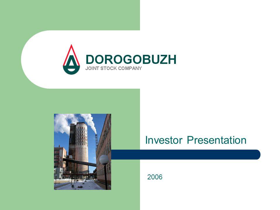Investor Presentation 2006