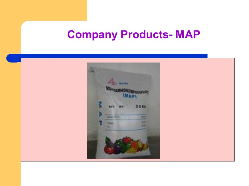 Company Products- MAP
