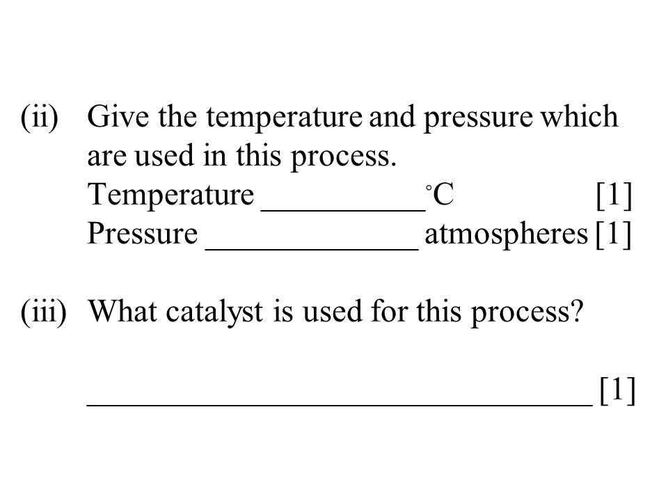 (ii)Describe the appearance of the chlorine gas produced.