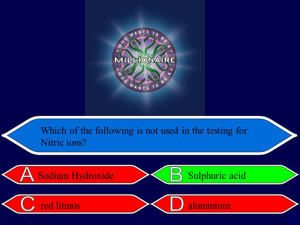 Which of the following is not used in the testing for Nitric ions.