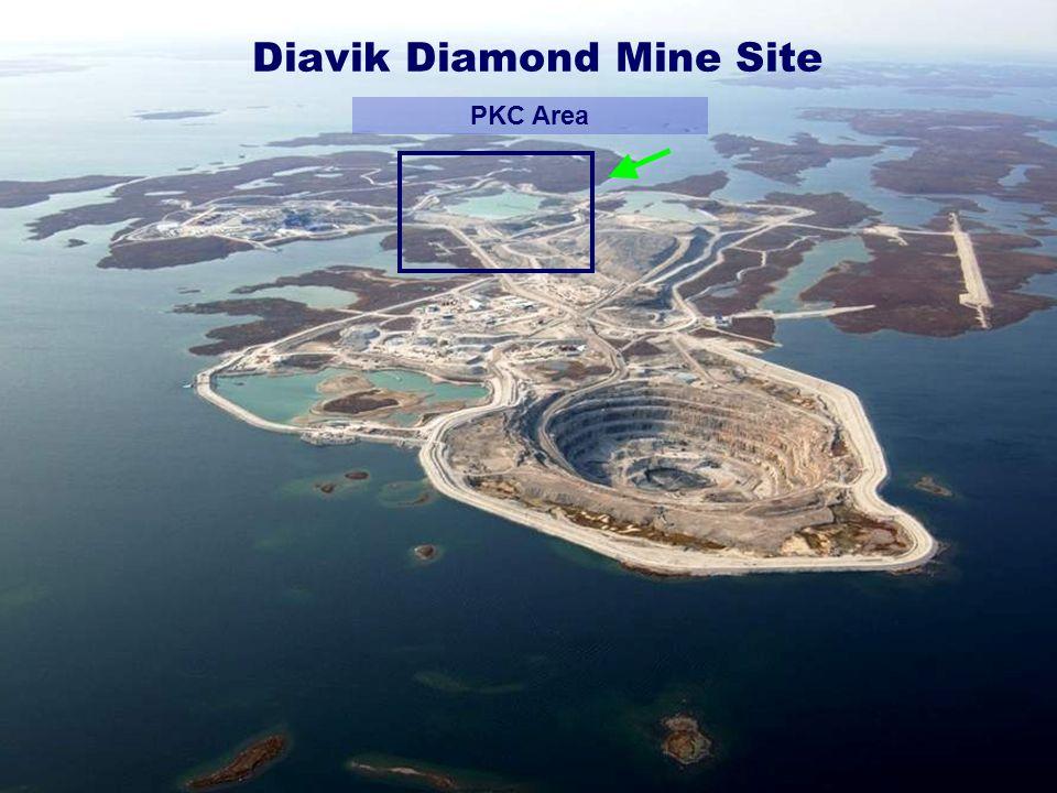 Diavik Diamond Mine Site PKC Area