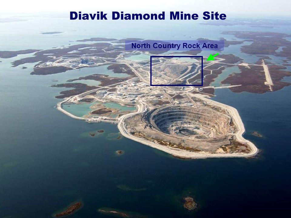 Diavik Diamond Mine Site North Country Rock Area