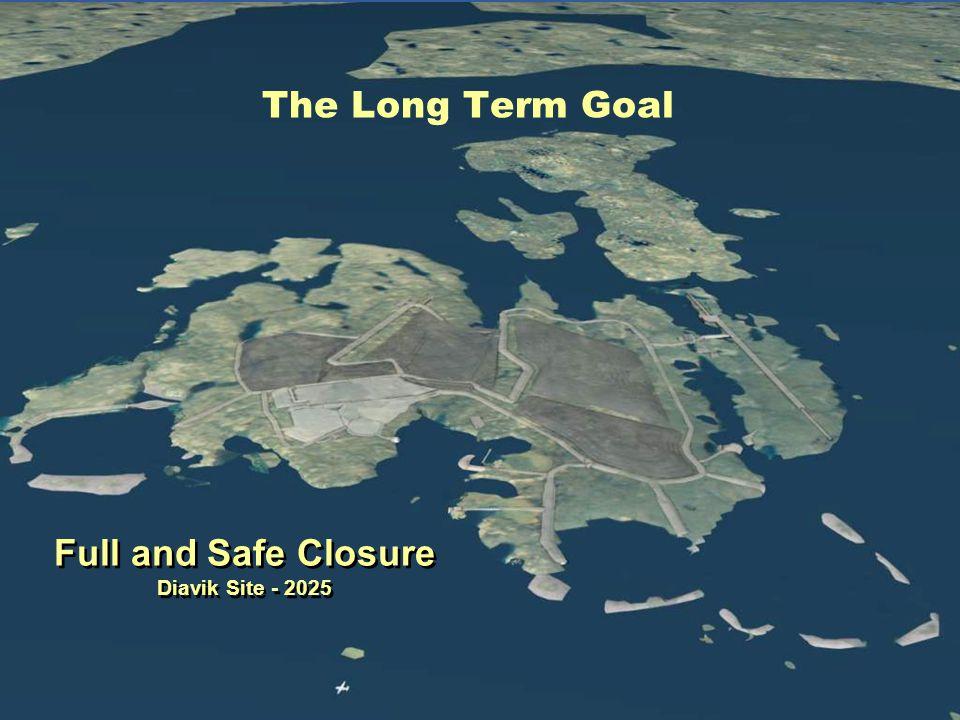 Full and Safe Closure Diavik Site - 2025 Full and Safe Closure Diavik Site - 2025 The Long Term Goal