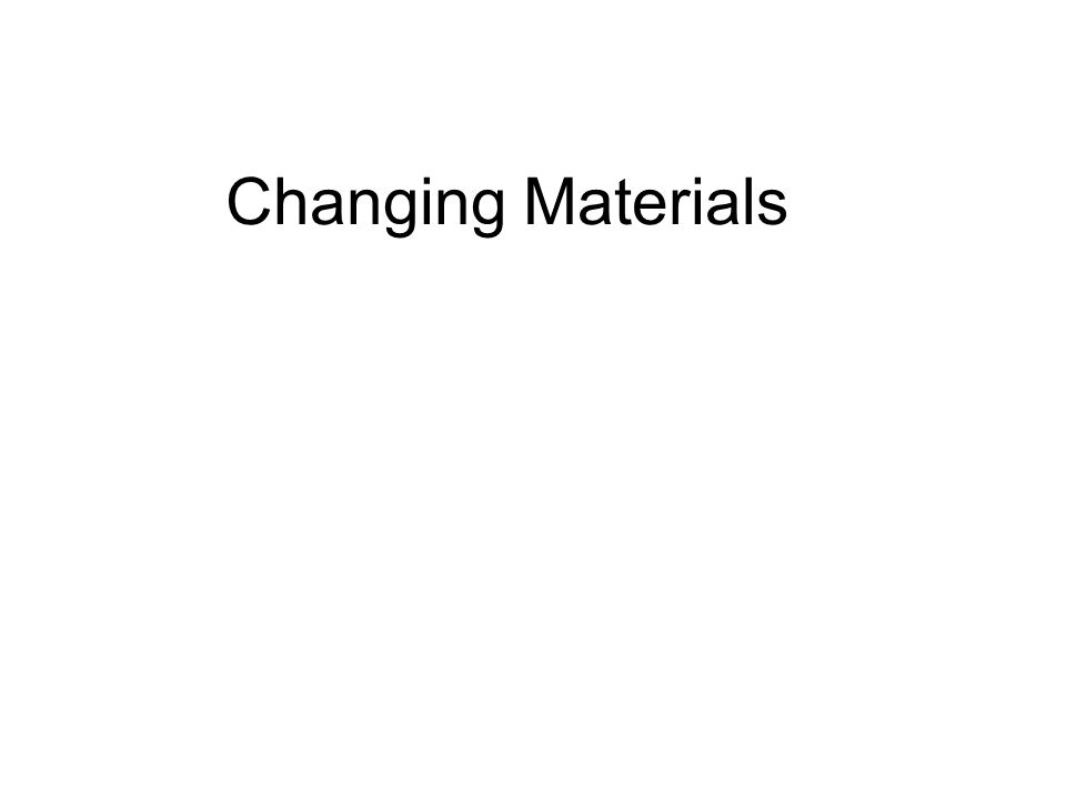 Contents Useful Products from Oil Useful Products from Metal Ores Useful Products from Rocks Useful Products from Air Representing Reactions Quantitative Chemistry Changes to the Earth and Atmosphere The Rock Record