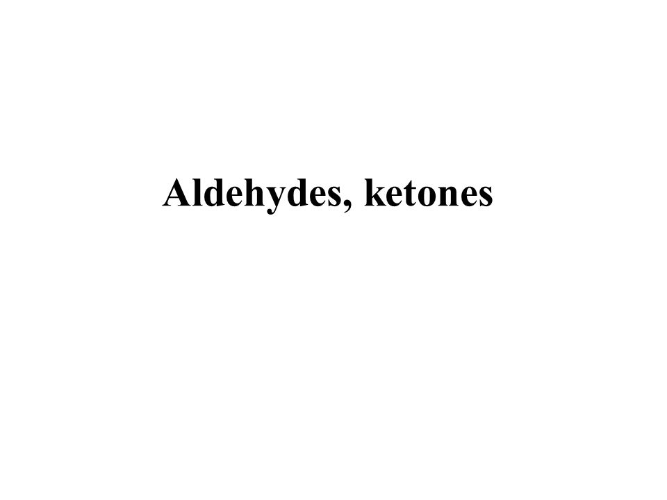 Aldol reaction (acid catalyzed)