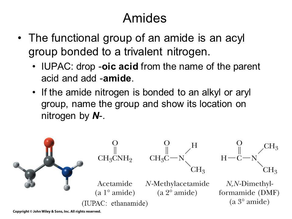 Lactams Lactam: a cyclic amide.