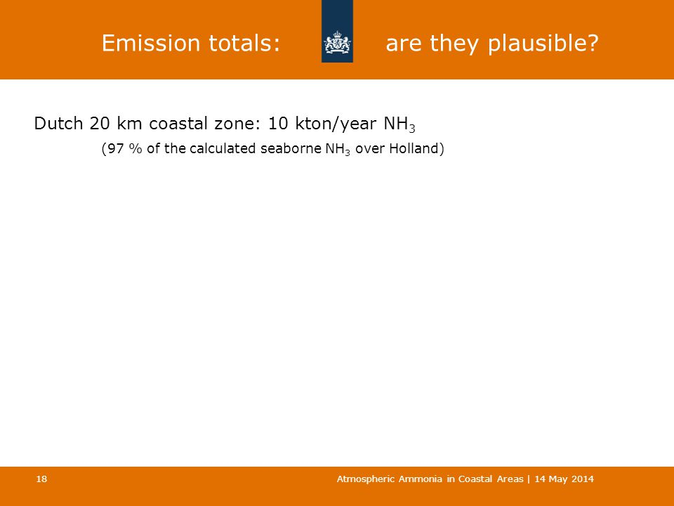 Emission totals: are they plausible.