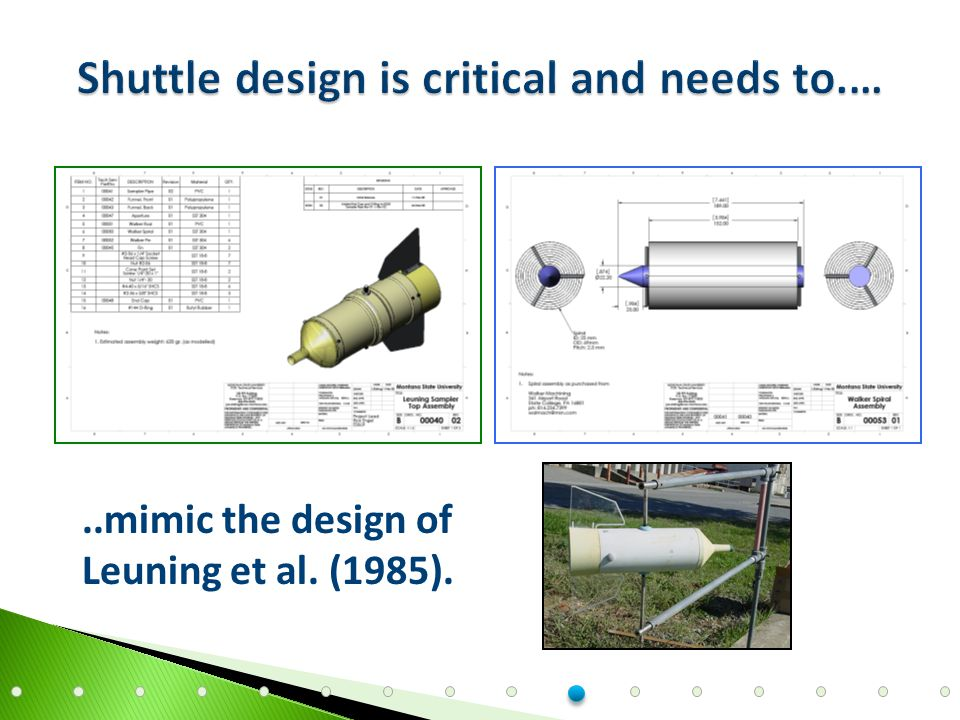 ..mimic the design of Leuning et al. (1985).