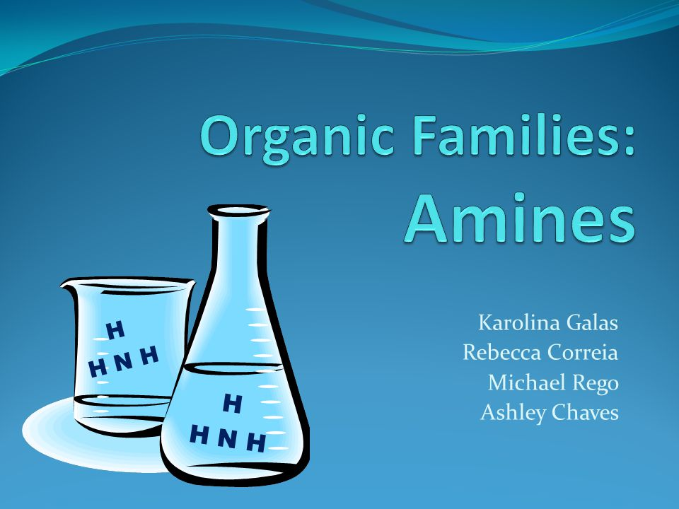 What is an Amine.