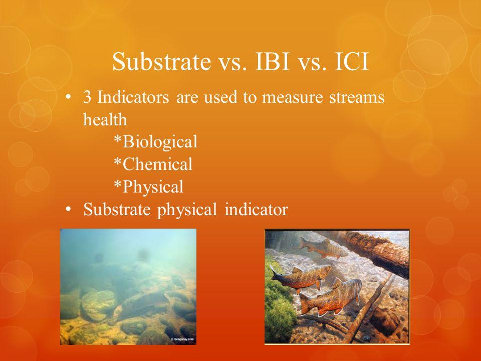 Substrate vs. IBI vs.