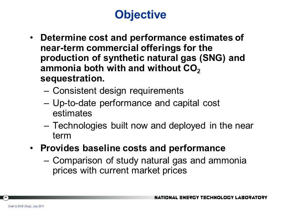 34 Coal to SNG Study, July 2011 Sensitivity to Financing Scenario
