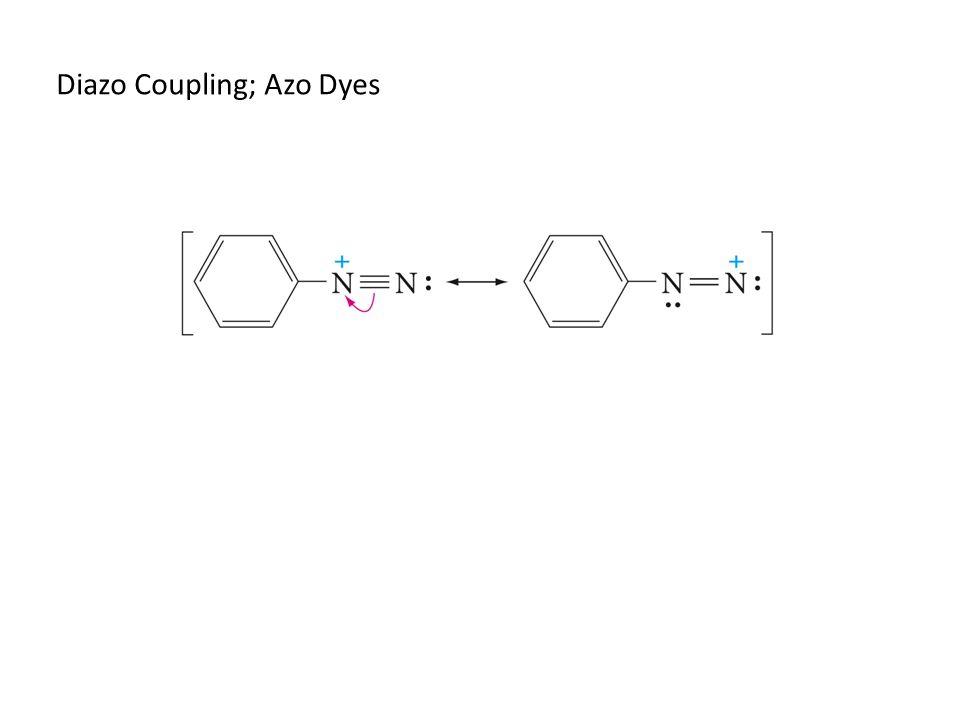 Diazo Coupling; Azo Dyes