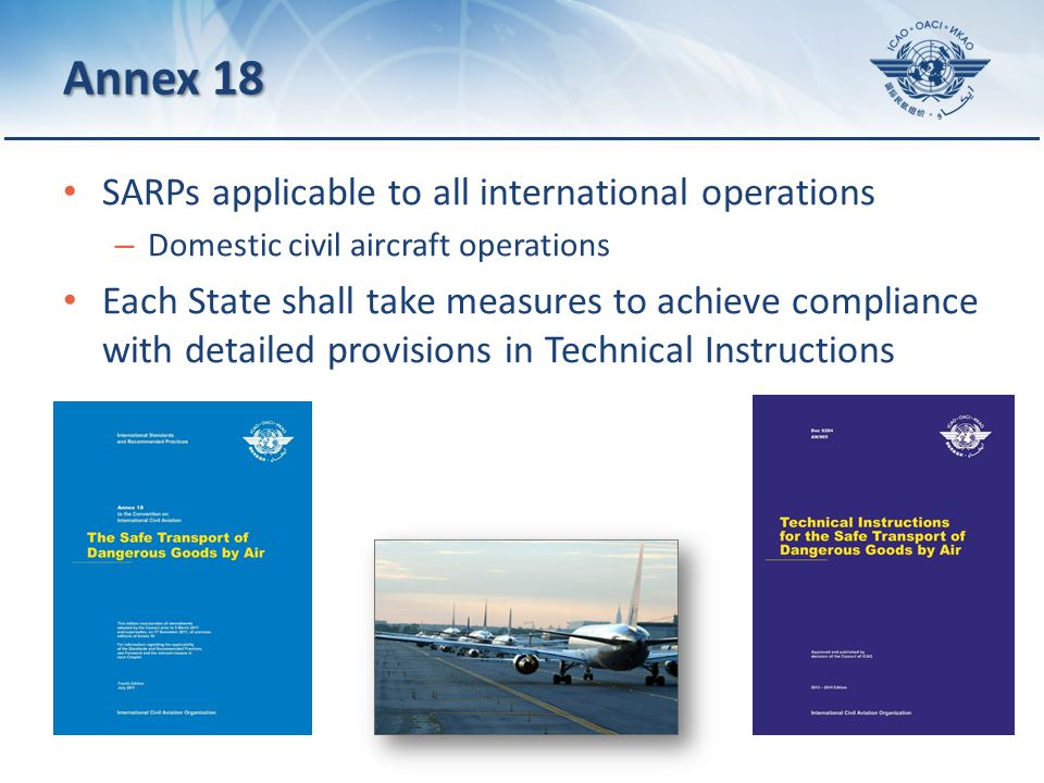 Page 6 Limitations Forbidden under any circumstance Exemption Approval Cargo aircraft Passenger aircraft