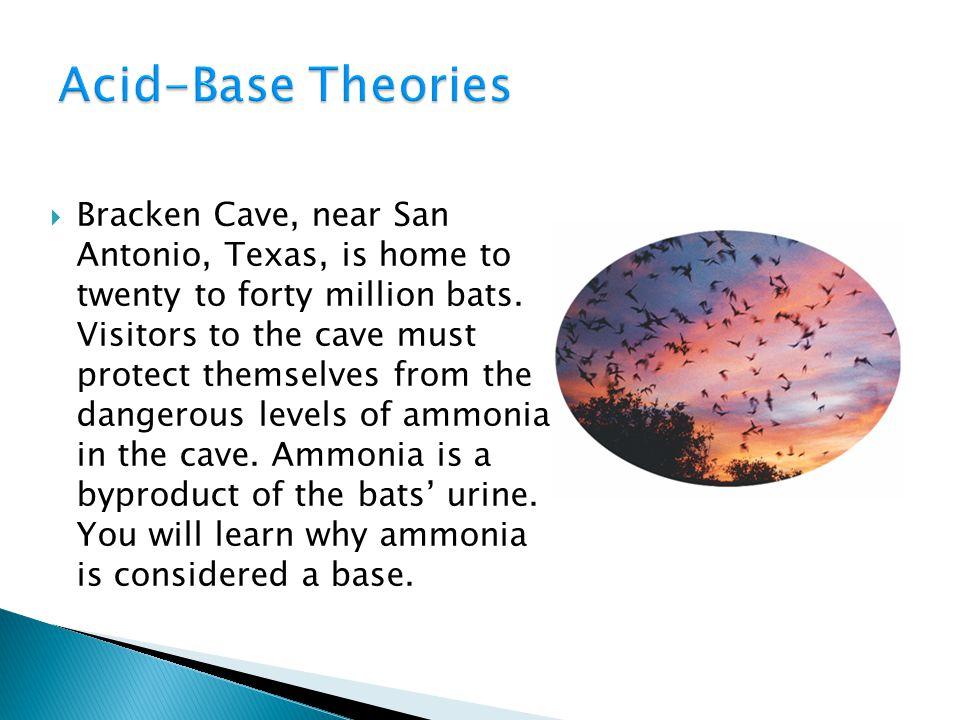 ◦ Ammonia is a Base 19.1