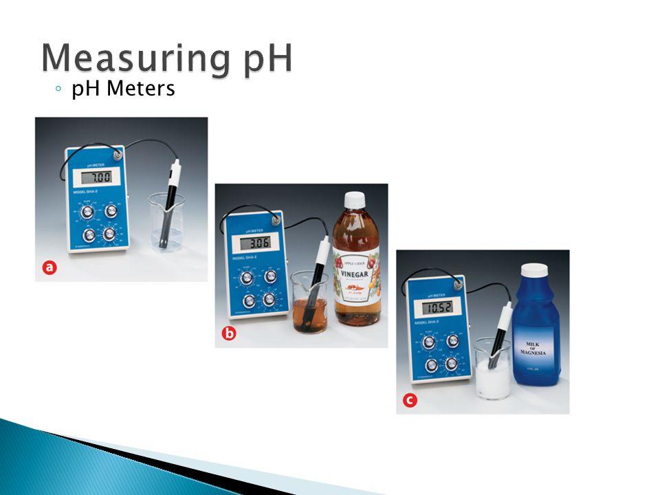 ◦ pH Meters 19.2