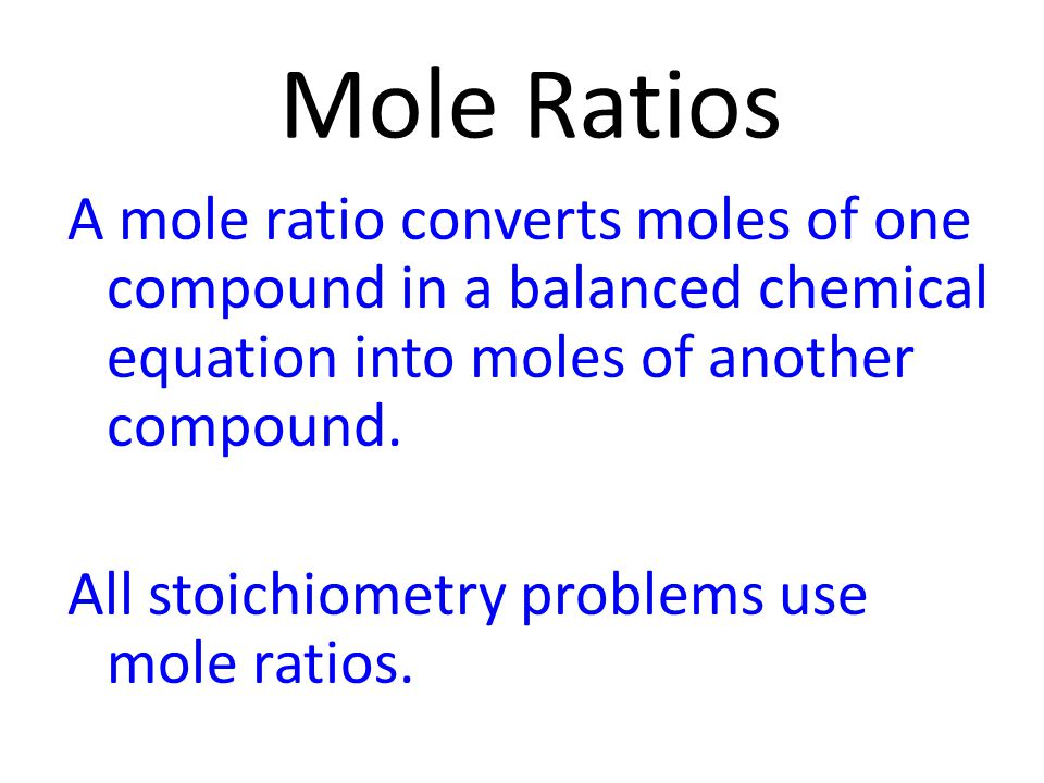 You will need to use: i.molar ratios in a balanced equation. ii.molar masses of reactants and products. iii.balancing equations. iv. conversions betwe