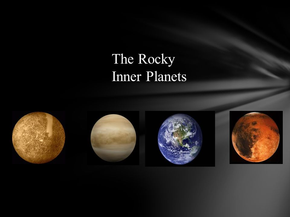 The Rocky Inner Planets