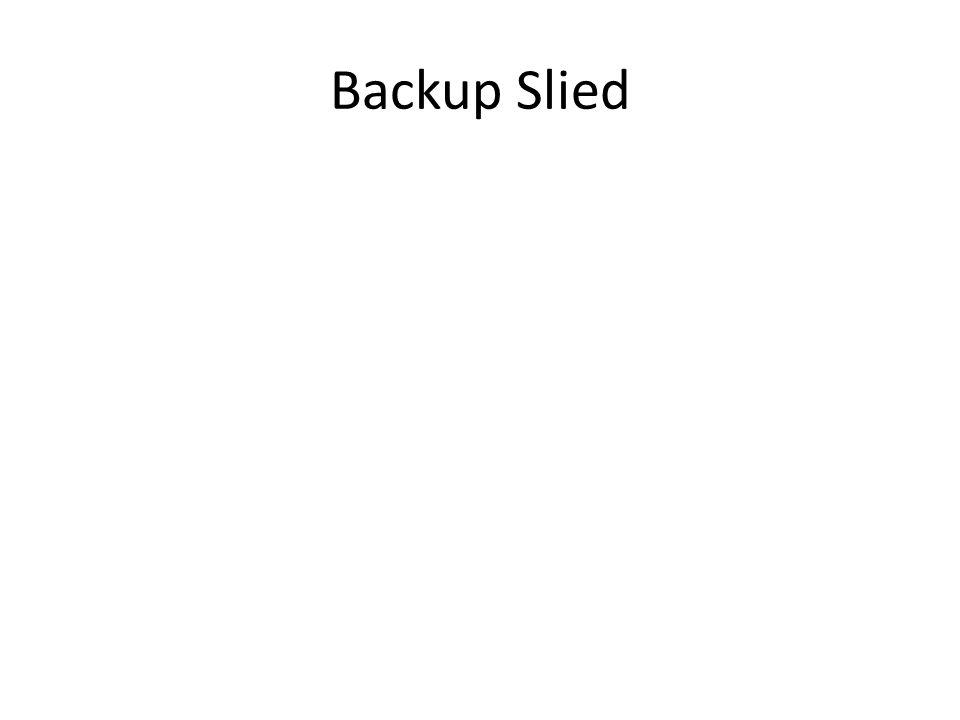 Backup Slied