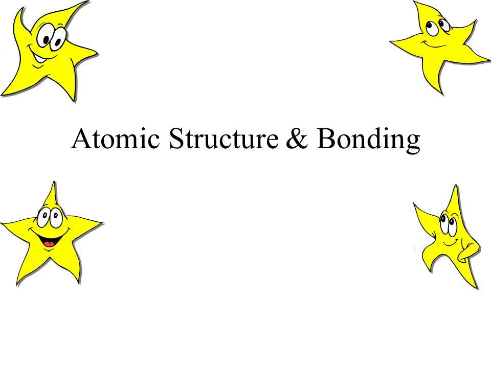 Atomic Structure & Bonding