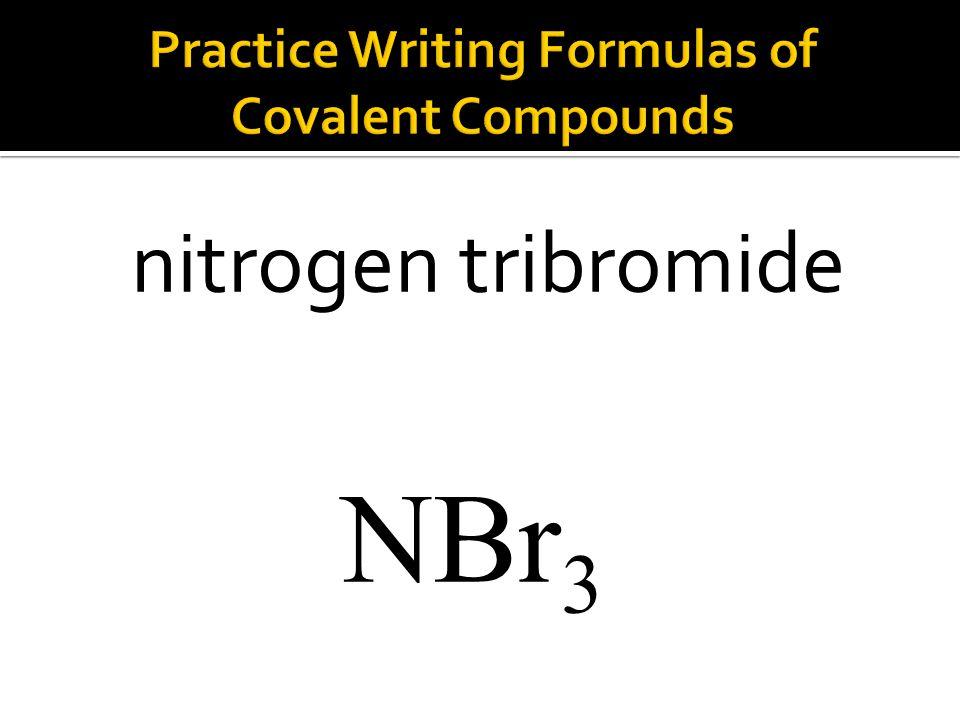 NBr 3 nitrogen tribromide